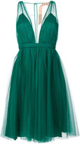 No.21 tulle cover dress