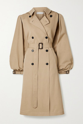 J.W.Anderson Cape-effect Wool-gabardine Trench Coat - Beige
