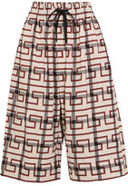 Vivienne Westwood Sumo Printed Stretch-Cotton Culottes
