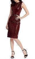 Antonio Melani Natasha Genuine Leather Dress