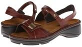 Naot Footwear Papaya (Luggage Brown Leather) Women's Sandals