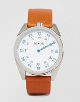 Nixon Genesis Leather Watch