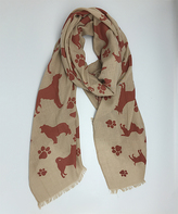 Brown Dog Scarf