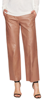 Helmut Lang Leather Cropped Pant