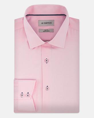 Le Château Cotton Blend Slim Fit Shirt