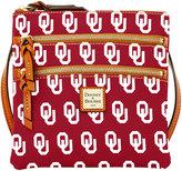 Dooney & Bourke Oklahoma Sooners Triple Zip Crossbody Bag