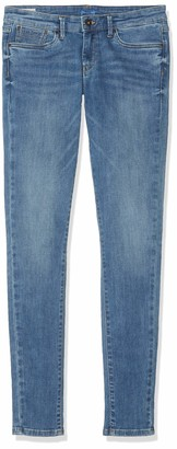 Pepe Jeans Girl's Pixlette Jeans Blue (Denim Mj7) 13-14 Years (Manufacturer size: 14 Years)