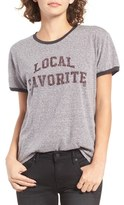 Billabong Local Fave Graphic Ringer Tee