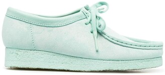 Clarks Wallabee suede lace-up shoes
