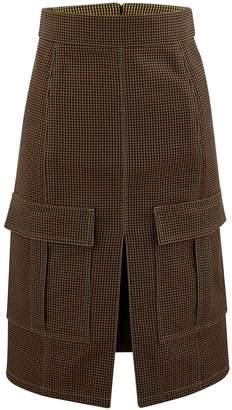 Chloé Blended wool skirt
