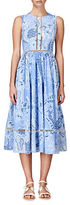 Cynthia Rowley Paisley Midi Dress