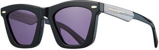 Karen Walker Alexandria Cat-Eye Acetate Sunglasses