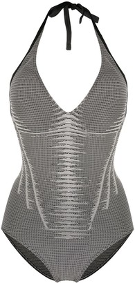 Wolford Serena Forming Beach Body one-piece