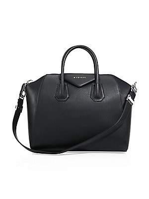 Givenchy Women's Medium Antigona Leather Satchel