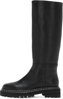 Proenza Schouler 30mm Leather Tall Boots
