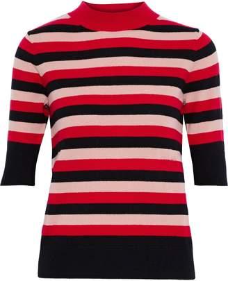 Sonia Rykiel Striped Cashmere Top