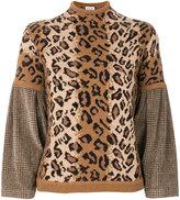 Loewe leopard sweater