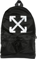 Off-White Brushed Arrows Nylon Backpack