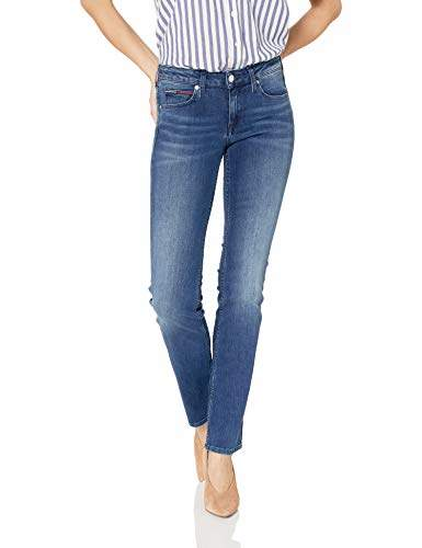 f396ad9e Tommy Hilfiger Blue Women's Stretch Jeans - ShopStyle