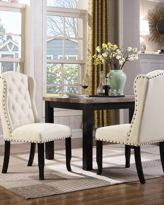 Chic Home Set Of 2 Shira Dining Chairs