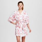 bride and beauties by BedHead Pajamas Bride & Beauties® by Bedhead Pajamas® Women's Cabbage Rose Kimono Robe