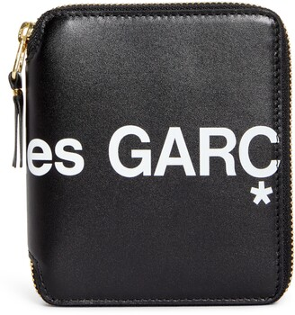 Comme des Garcons Huge Logo Zip Around Wallet