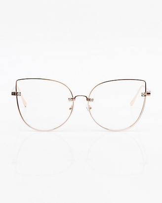 Le Château Clear Cat Eye Glasses