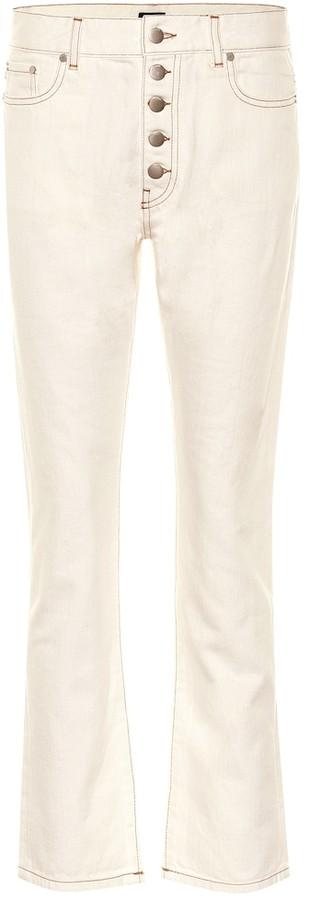 Joseph High-rise straight jeans