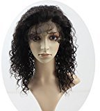 Sexy Girl Hair Human Lace Front Wig Brazilian Remy Human Curl Hair Lace Wigs with Baby Hair For African Americans 130% Density Natural Color 22inch