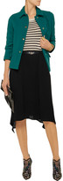 Marni Draped crepe skirt