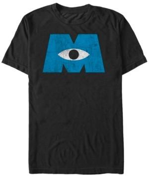 Disney Pixar Men's Monsters Inc. Eye Logo, Short Sleeve T-Shirt