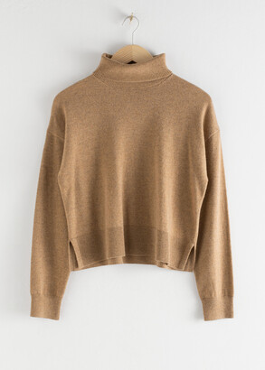 And other stories Cashmere Turtleneck Sweater