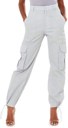 Missguided Utility Drawcord Cuff Trousers