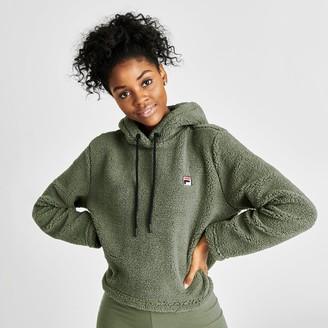 Fila Women's Ember Crop Sherpa Hoodie