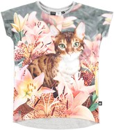 Molo Girl's Ragnhilde T-Shirt - Lily Tiger