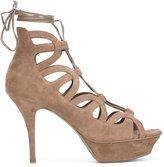 Saint Laurent Tribute Sixteen sandals - women - Leather/Suede - 39