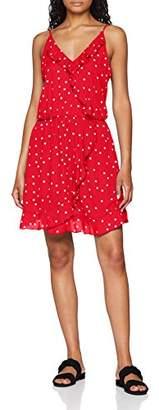 Only Women's Onlrubbi Strap Wrap Dress WVN,(Size: 36)