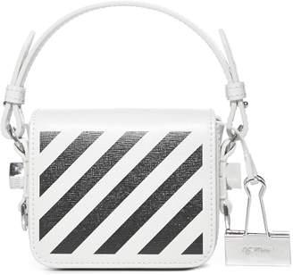 Off-White Diag Baby Binder Clip Shoulder Bag