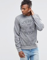 Von Dutch Sweatshirt With Large Logo