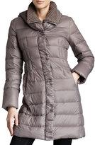 T Tahari Olivia Packable Puffer Coat