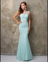 Nina Canacci - 9082 Evening Dress In Turquoise