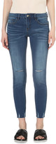 Mo&Co. Mid-rise skinny cropped jeans