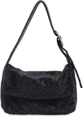 Benedetta Bruzziches La Monique La Mignon Crystal Mesh Bag