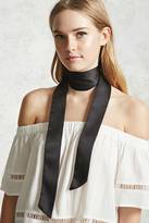 Forever 21 Satin Self-Tie Bow Scarf