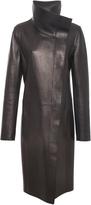 Akris Lamb Nappa Leather Coat