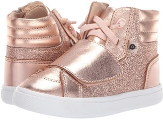 Old Soles O-Glam Shoe (Toddler/Little Kid) (Glam Copper/Copper) Girl's Shoes