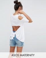 Asos Open Back Cold Shoulder Top