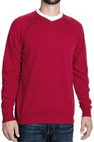 J. Peterman Being Comfortable Sweatshirt - V-Neck (For Men)