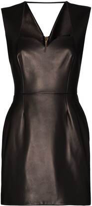 Versace Heritage Neckline Mini Dress