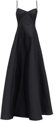 BERNADETTE Gwyneth Taffeta Gown - Black